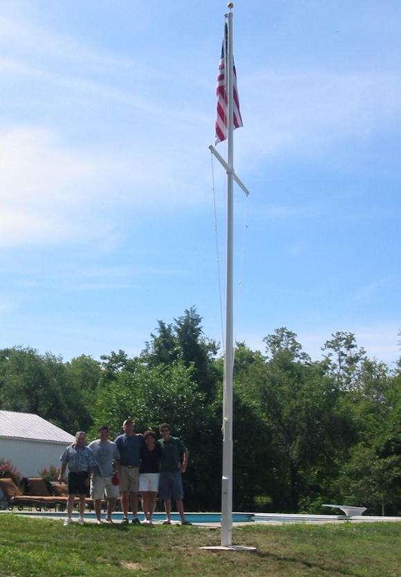 Wooden 20'-40' | Flagpoles Etc