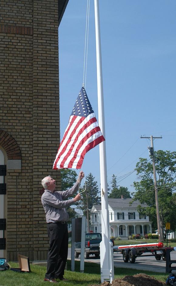 Wooden 20'-40'  Flagpoles Etc.