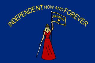 Ala Repub Flag Side 1