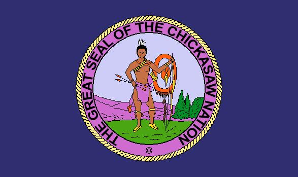 Chickasaw Nation Flag History Flagpoles Etc