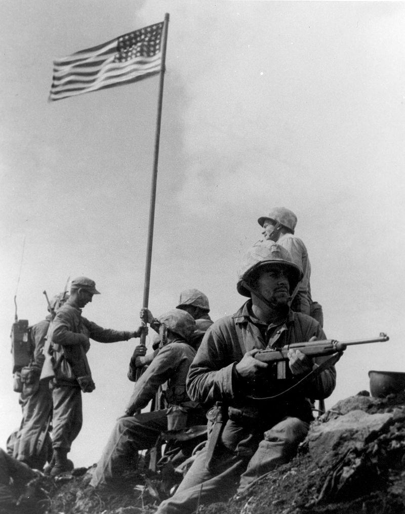 Iwo Jima First Flag
