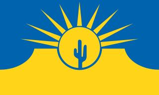 mesa arizona city flag history flagpoles etc