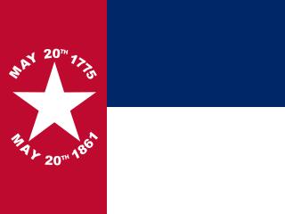 N.C. Flag 1861