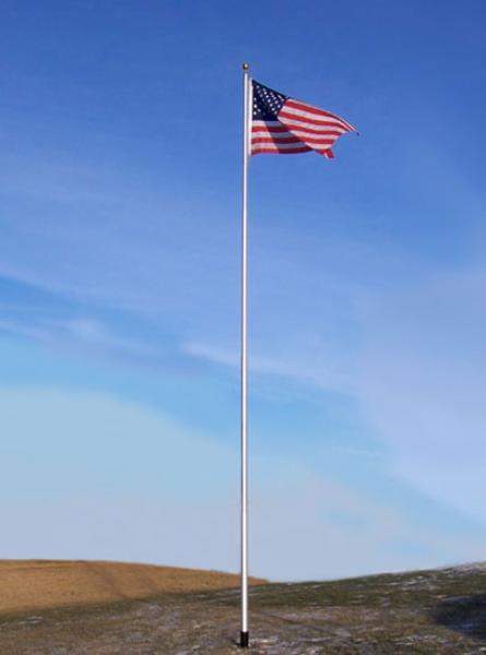 Aep Elite Telescoping Flagpole 20 Flagpoles Etc