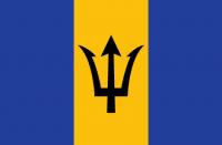 BARBADOS Nylon Country Flag