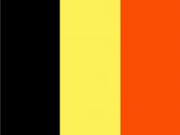 BELGIUM Nylon Country Flag
