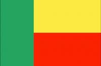 BENIN Nylon Country Flag