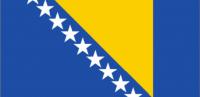 BOSNIA-HERZEGOVINA Nylon Country Flag