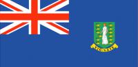 BRITISH VIRGIN ISLANDS Nylon Country Flag