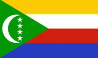 COMOROS Nylon Country Flag