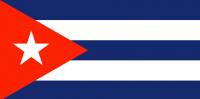 CUBA Nylon Country Flag