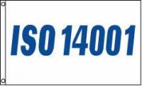 ISO 14001 4x6 Flag