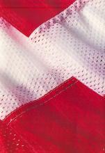 8x12 Nylon Mesh US Flag