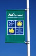 Streetview Single Street Banner Brackets