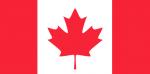 CANADA Nylon Country Flag