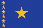 CONGO (dem) Nylon Country Flag